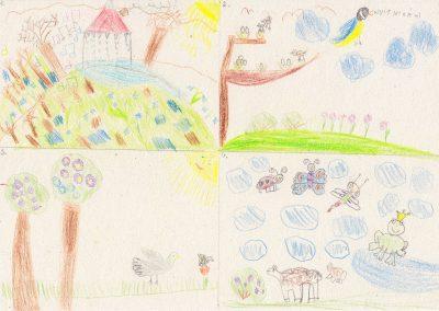 Andók Veronika Tavasz van illusztráció 1. osztály 2