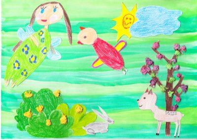 Andók Veronika Tavasz van vers illusztráció _0001