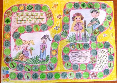 Kertész társasjáték Projekt munka 3b