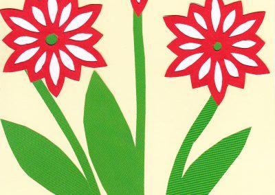 Nemzeti színű virág 1