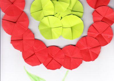 Nemzeti színű virág 2