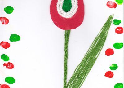 Nemzeti színű virág 4