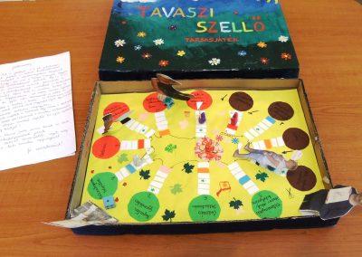 Tavaszi társasjáték Projekt munka 1b
